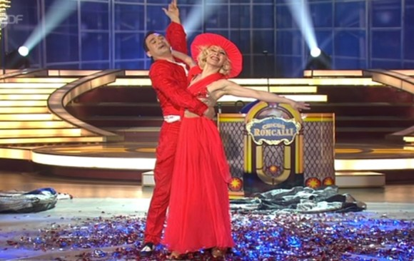 Duo Minasov - Quick Change on TV-Show in Germany